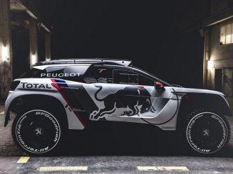 Nuova Peugeot 3008 DKR pronta per la Dakar 2017