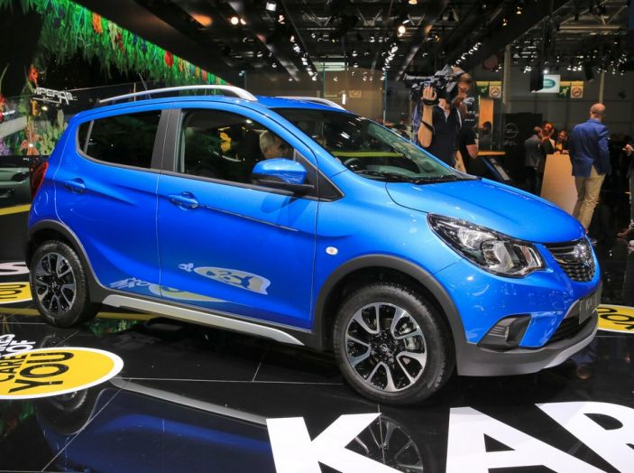Nuova Opel Karl ROCKS