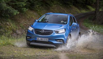 Nuovo Opel Mokka X: prova su strada, prezzi e motori
