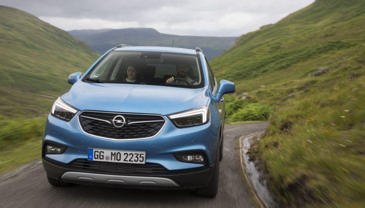 Nuovo Opel Mokka X: prova su strada, prezzi e motori - Foto 5 di 8