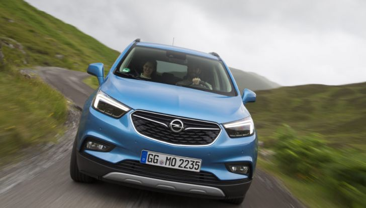 Nuovo Opel Mokka X: prova su strada, prezzi e motori - Foto 6 di 8