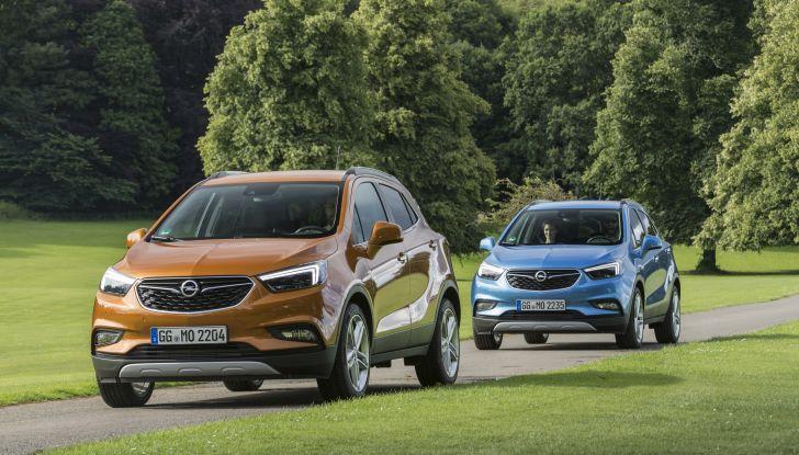 Nuovo Opel Mokka X: prova su strada, prezzi e motori - Foto 8 di 8