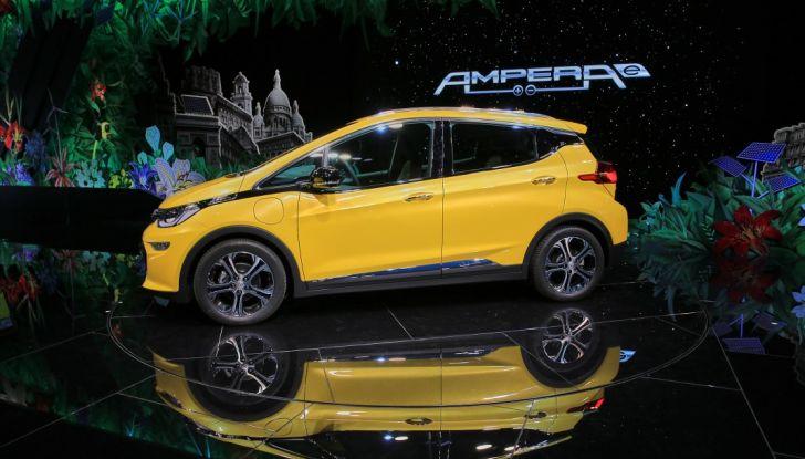 Opel Ampera-e, la monovolume elettrica debutta al salone dell'Auto di Parigi 2016 - Foto 7 di 27
