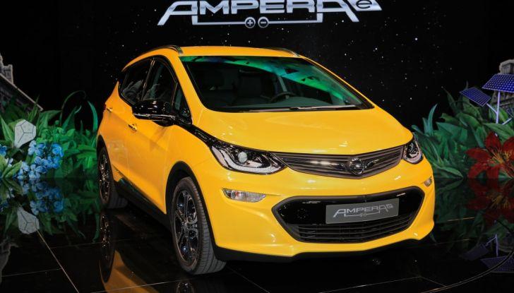 Opel Ampera-e, la monovolume elettrica debutta al salone dell'Auto di Parigi 2016 - Foto 1 di 27