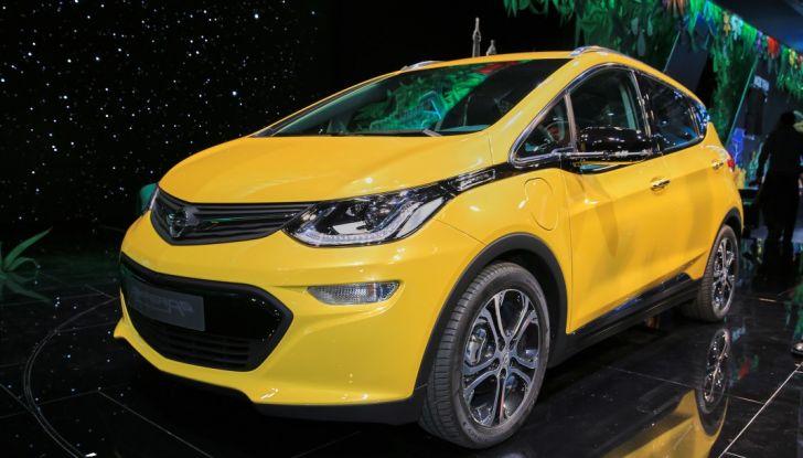 Opel Ampera-e, la monovolume elettrica debutta al salone dell'Auto di Parigi 2016 - Foto 26 di 27