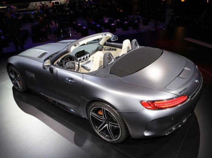 auto novità mercedes amg GT C Roadster Salone di Parig