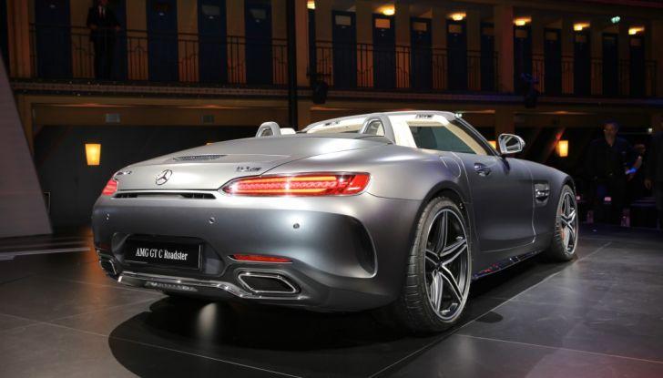 auto novità mercedes amg GT C Roadster Salone di Parigi
