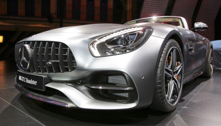 auto novità mercedes amg GT dettaglio Salone di Parigi