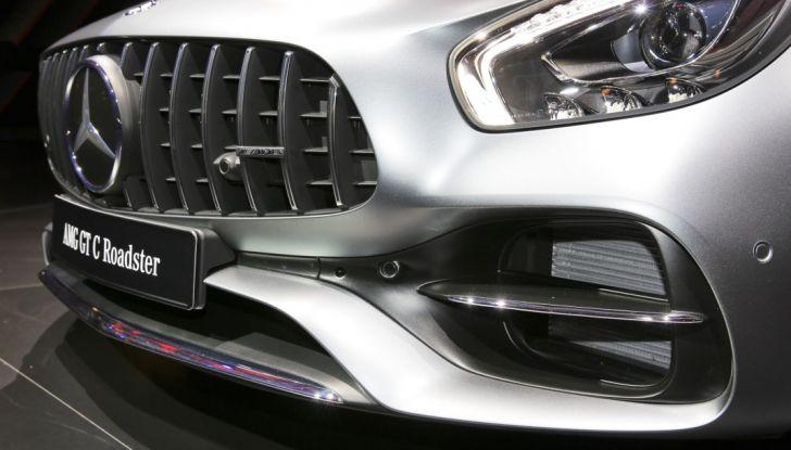 auto novità mercedes GT dettaglio Salone di Parigi