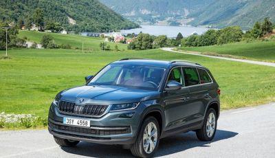 Skoda Kodiaq, dati tecnici e motorizzazioni del nuovo SUV Skoda
