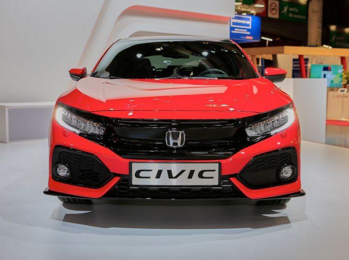 Honda Civic Novità Salone di Parigi 2016.