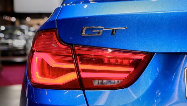 auto salone parigi bmw serie 3 GT