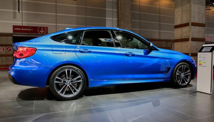 bmw serie 3 GT auto salone parigi 2016