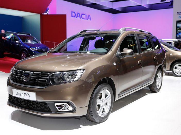 Dacia Logan MCV novità salone Parigi 2016