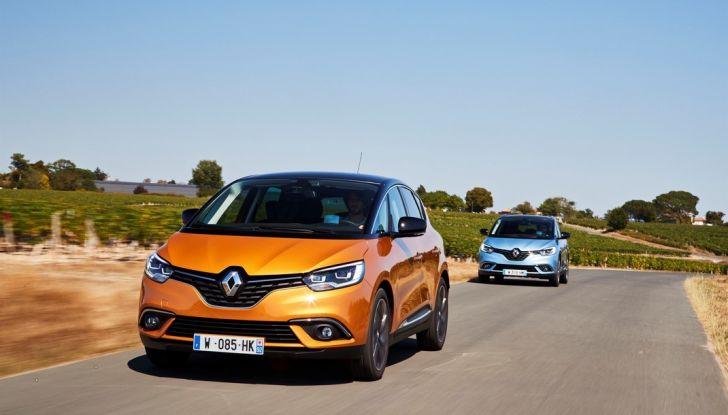 Test drive Nuova Renault Scenic 5 posti e 7 posti - Foto 7 di 35