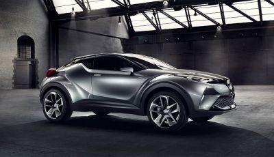 Toyota C-HR, Prius Plug-in Hybrid e le altre novità del brand al Salone di Parigi 2016