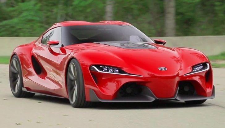 Toyota Supra 2018: design del concept FT1 e collaborazione con BMW - Foto 6 di 20