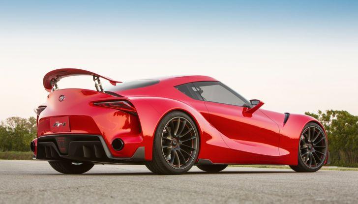 Toyota Supra 2018: design del concept FT1 e collaborazione con BMW - Foto 12 di 20