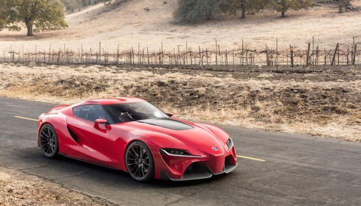 Toyota Supra 2018: design del concept FT1 e collaborazione con BMW - Foto 8 di 20