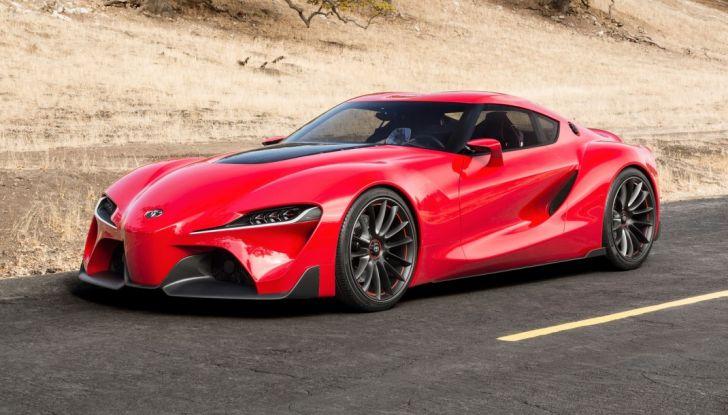 Toyota Supra 2018: design del concept FT1 e collaborazione con BMW - Foto 4 di 20