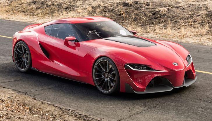 Toyota Supra 2018: design del concept FT1 e collaborazione con BMW - Foto 2 di 20