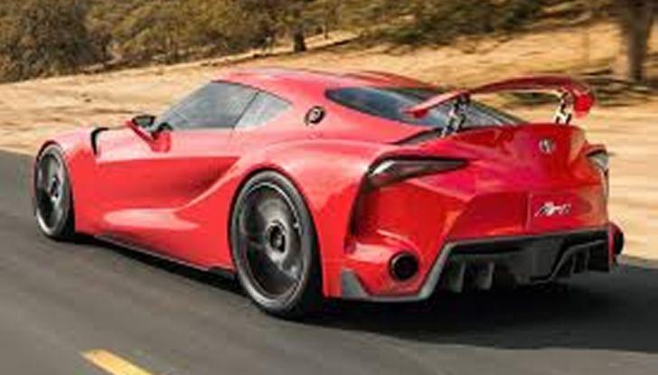 Toyota Supra 2018: design del concept FT1 e collaborazione con BMW - Foto 10 di 20