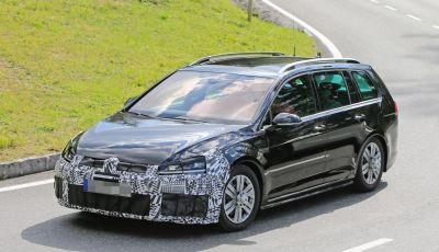 Volkswagen Golf VII R Variant Facelift prime foto spia
