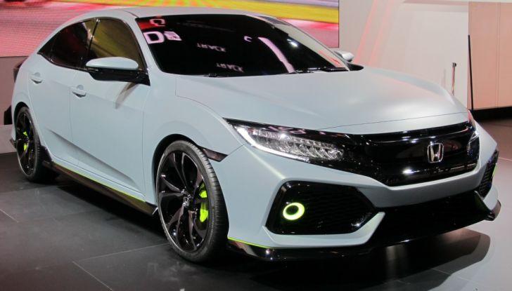 Nuova Honda Civic.