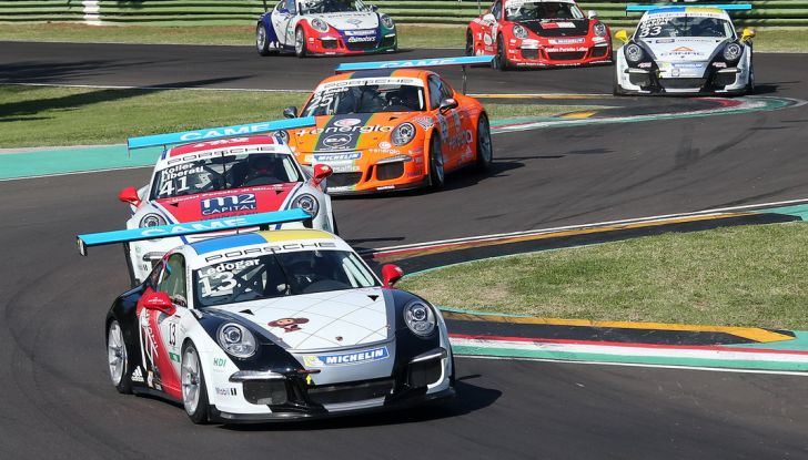 Carrera Cup Italia: doppio successo per Drudi nelle due gare sprint di Imola - Foto 1 di 14