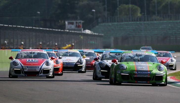 Carrera Cup Italia: doppio successo per Drudi nelle due gare sprint di Imola - Foto 2 di 14