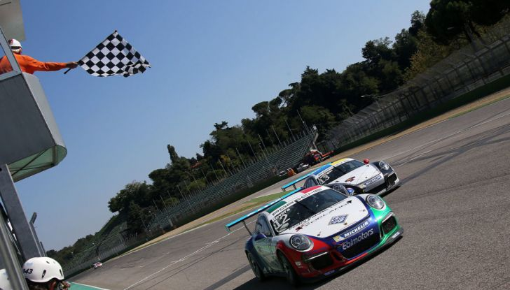 Carrera Cup Italia: Rovera vince la terza gara di Imola e Ledogar ipoteca il Titolo - Foto 7 di 8