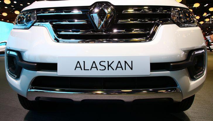 Renault Alaskan, il primo pick-up della casa francese - Foto 3 di 9