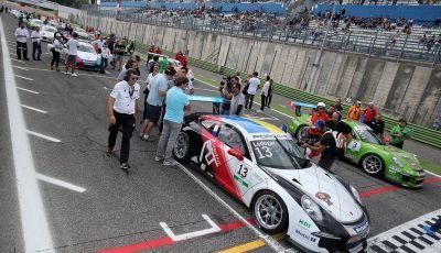 A Vallelunga Mattia Drudi si aggiudica la terza gara della Carrera Cup Italia