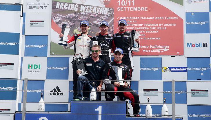 A Vallelunga Mattia Drudi si aggiudica la terza gara della Carrera Cup Italia - Foto 7 di 8