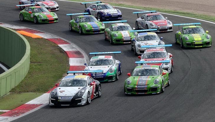 A Vallelunga Mattia Drudi si aggiudica la terza gara della Carrera Cup Italia - Foto 2 di 8