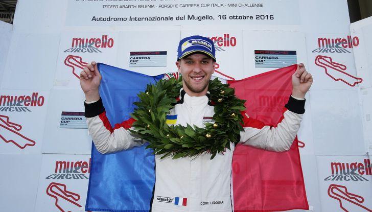 Al Mugello Grenier vince Gara 1, ma Ledogar è il nuovo campione della Carrera Cup Italia - Foto 9 di 9