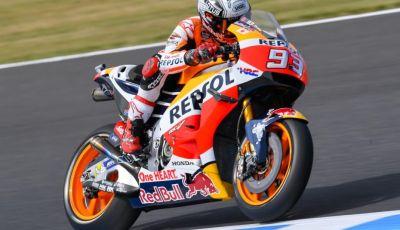Risultati MotoGP 2016, Phillip Island: pole a Marquez, Rossi partirà dalla quinta fila