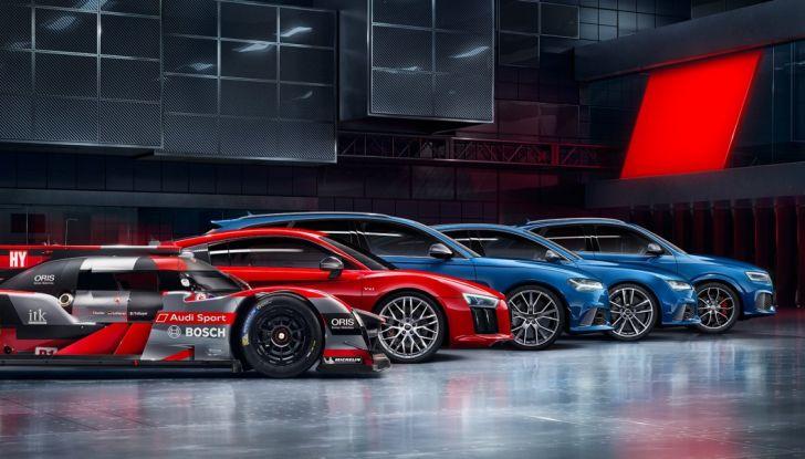 Audi rinuncia al WEC per correre in Formula E, ma non abbandona il DTM - Foto 1 di 11