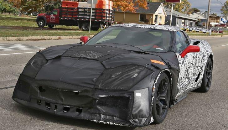Nuova Chevrolet Corvette C7 ZR1, le prime foto spia - Foto 22 di 35