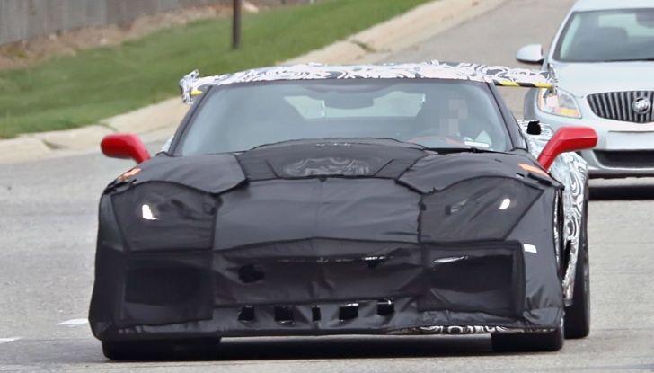 Nuova Chevrolet Corvette C7 ZR1, le prime foto spia - Foto 23 di 35