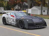 Nuova Chevrolet Corvette C7 ZR1, le prime foto spia
