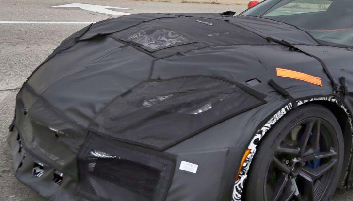 Nuova Chevrolet Corvette C7 ZR1, le prime foto spia - Foto 20 di 35