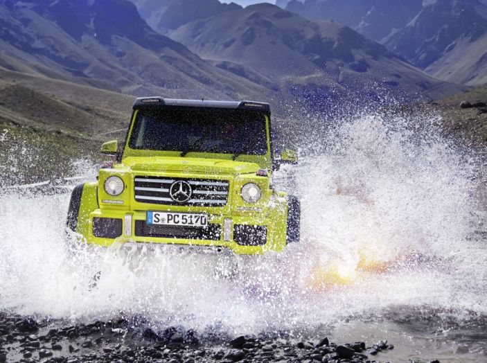 Mercedes Classe G 500 al 4×4 Fest di Carrara: il lusso del fango - Foto 4 di 6