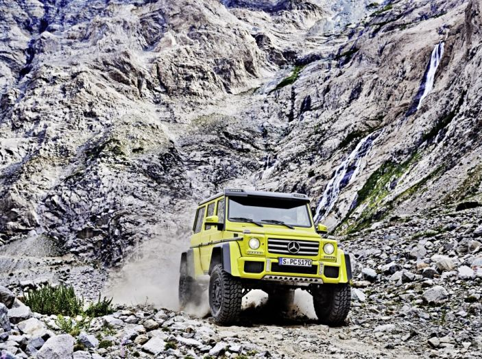 Mercedes Classe G 500 al 4×4 Fest di Carrara: il lusso del fango - Foto 5 di 6