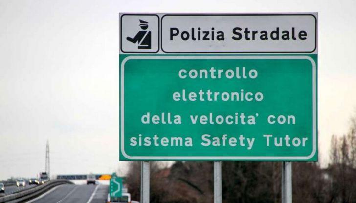 Tutor autostradali spenti, la sentenza è ufficiale - Foto 2 di 8