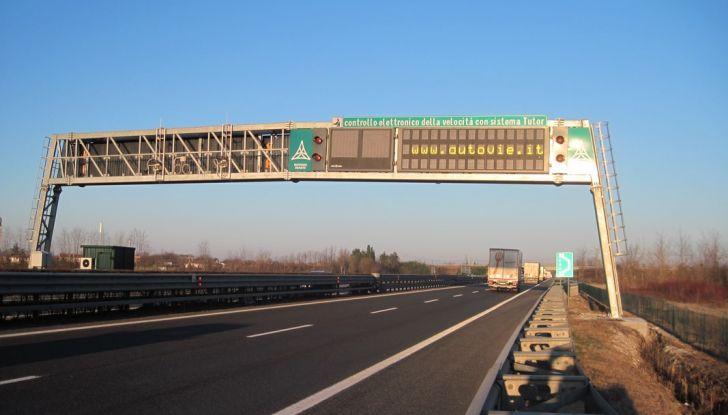 Come funziona il tutor in autostrada - Foto 5 di 8