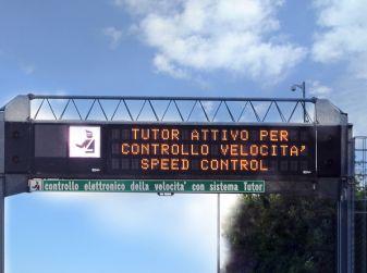 Come funziona il tutor in autostrada