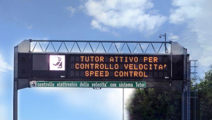 Come funziona il tutor in autostrada - Foto 1 di 8