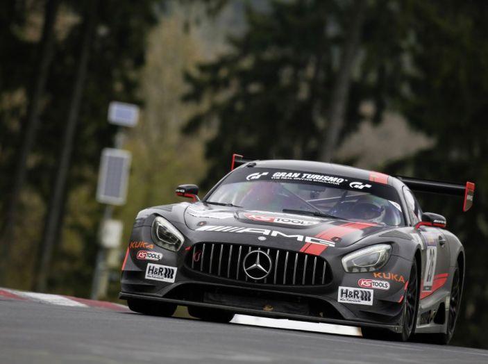 Doppel Podium Mercedes AMG Nürburgring Nordschleife