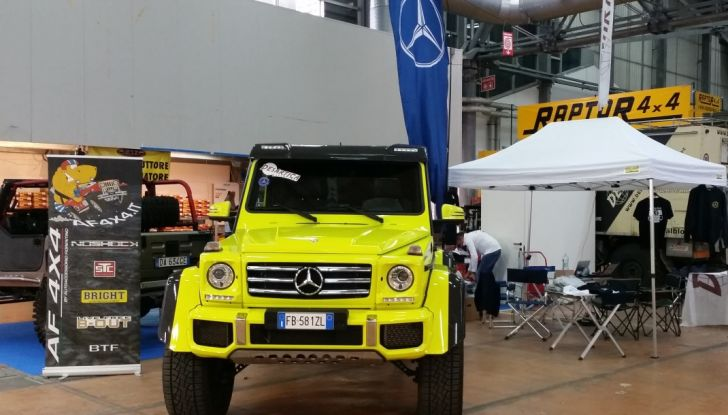 Mercedes Classe G 500 al 4×4 Fest di Carrara: il lusso del fango - Foto 6 di 6